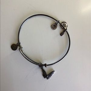 Alex and Ani (silver, butterfly)